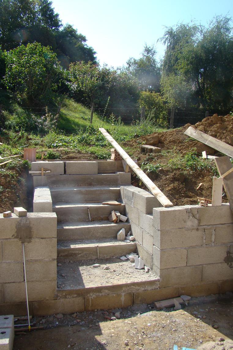 Escalier suite at anne s bastien cl ment clarice et for Escalier pour jardin